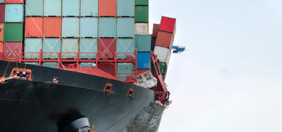 Containers overboard highlight cargo risks