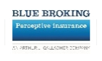 Blue broking logo